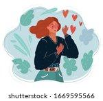 cartoon vector illustration of... | Shutterstock .eps vector #1669595566