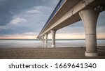 Massive Concrete Pier Leading...