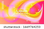 abstract colorful background... | Shutterstock .eps vector #1669764253