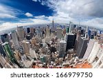 View Of Manhattan From A Heigh...