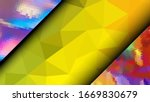 geometric design. colorful... | Shutterstock .eps vector #1669830679