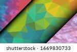 geometric design. colorful... | Shutterstock .eps vector #1669830733