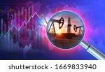 saudi arabia vs russia oil... | Shutterstock . vector #1669833940
