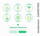 organic cosmetics thin line...   Shutterstock .eps vector #1669837000