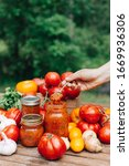 Homemade Canned Tomato Sauce ...