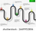 infographic design template...   Shutterstock .eps vector #1669952806