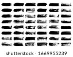 eps 10 vector. set of black... | Shutterstock .eps vector #1669955239