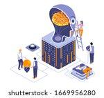 thinking over idea isometric...
