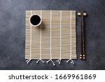 Bamboo Mat With Chopsticks....