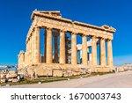 Acropolis   Parthenon Ruins In...