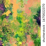 textured and artistic colorful... | Shutterstock . vector #1670022370