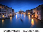 Grand Canal Of Venice City Wit...