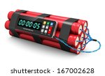 tnt time bomb explosive with...   Shutterstock . vector #167002628