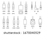 usb  hdmi  ethernet and other... | Shutterstock .eps vector #1670040529