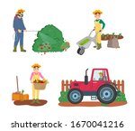 farming people raster  man... | Shutterstock . vector #1670041216