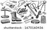 cobbler set. professional...   Shutterstock .eps vector #1670160436