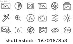 simple set of image editing...   Shutterstock .eps vector #1670187853