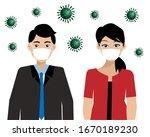 covid 19 prevention....   Shutterstock .eps vector #1670189230