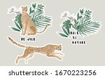 Two Jaguars In A Thicket Of...