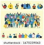 vector illustration in a flat... | Shutterstock .eps vector #1670239063