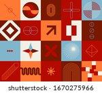 artwork geometric pattern... | Shutterstock .eps vector #1670275966