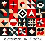 artwork geometric pattern... | Shutterstock .eps vector #1670275969