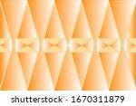 brown rhombs volumetric... | Shutterstock .eps vector #1670311879
