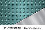 background of light blue... | Shutterstock .eps vector #1670326180