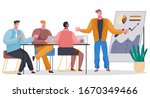 teamwork cooperation and... | Shutterstock .eps vector #1670349466
