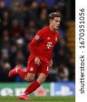 Small photo of Philippe Coutinho of Bayern Munich - Chelsea v Bayern Munich, UEFA Champions League - Round of 16 First Leg, Stamford Bridge, London, UK - 25th February 2020