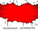 comic book cartoon speech...   Shutterstock .eps vector #1670406793