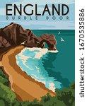 Durdle Door England Vector...
