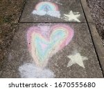 Yellow Stars And Rainbow Heart...