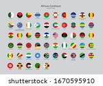african continent countries... | Shutterstock .eps vector #1670595910