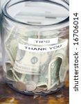tips jar   Shutterstock . vector #16706014