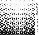 triangular geometric pattern.... | Shutterstock .eps vector #1670665330