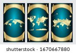 world map  detailed country map ... | Shutterstock .eps vector #1670667880