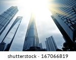 office building as the... | Shutterstock . vector #167066819