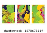 abstract color mix wall...   Shutterstock .eps vector #1670678119