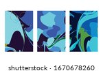 abstract color mix wall...   Shutterstock .eps vector #1670678260