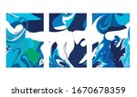 abstract color mix wall... | Shutterstock .eps vector #1670678359