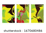 abstract color mix wall...   Shutterstock .eps vector #1670680486