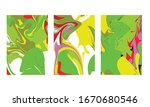 abstract color mix wall...   Shutterstock .eps vector #1670680546