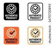"original ""authentic product"" ... | Shutterstock .eps vector #1670720893"