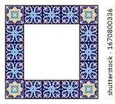 tile frame vector. border... | Shutterstock .eps vector #1670800336