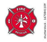 Fire Department Emblem St...