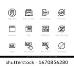 ads blocking  ad ban  remove... | Shutterstock .eps vector #1670856280