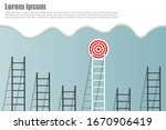 stand out from the crowd and...   Shutterstock .eps vector #1670906419