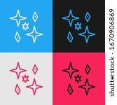 pop art line planet icon... | Shutterstock .eps vector #1670906869