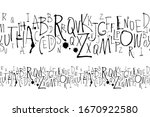 vector illustration handwritten ... | Shutterstock .eps vector #1670922580